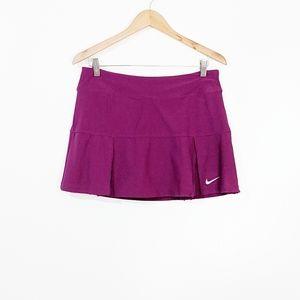 Nike Dri-Fit Purple Tennis Skirt Skort Size Medium